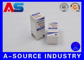 Anabolic Steroids Pharmabox Printing For 10ml vials With Embossed Logo Matt Printing SP Pharma Design